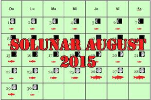 solunar august 2015